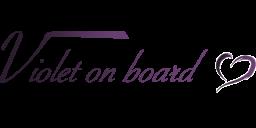 Violet on board